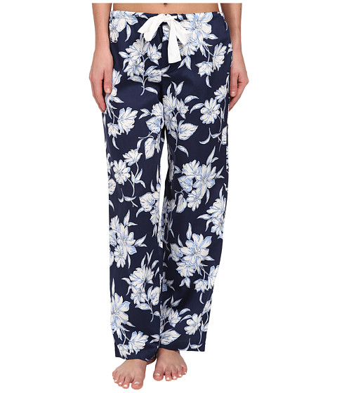 LAUREN by Ralph Lauren - Park Avenue Sateen Long Pant (City Floral) Women's Pajama