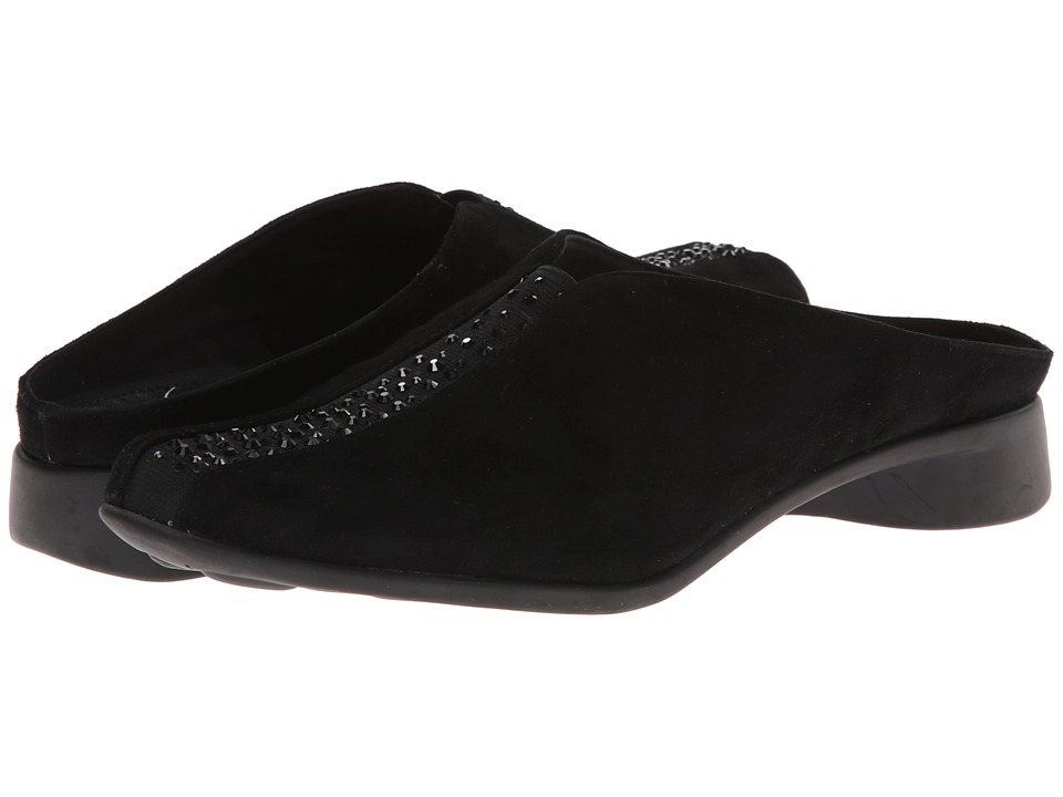 J. Renee Cayla (Black Suede) High Heels