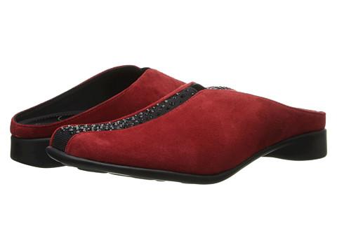 J. Renee - Cayla (Red Suede) High Heels