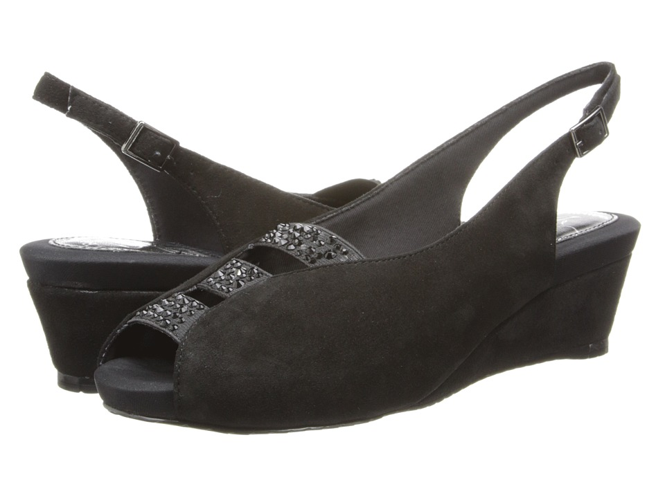 J. Renee - Hannel (Black Suede) High Heels