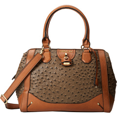 London Fog Lark Satchel (Mink) Satchel Handbags