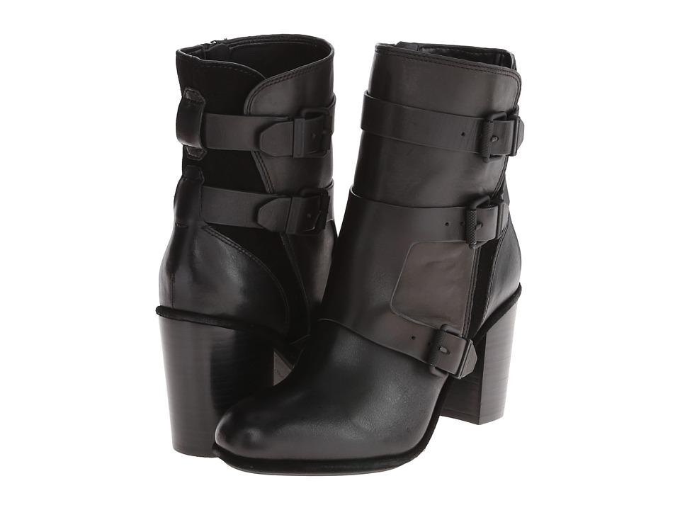 Calvin Klein Jeans - Suzie (Black Cow Crust/Cow Suede) Women's Shoes
