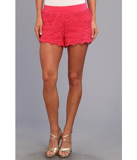 Lilly Pulitzer - Lacie Short (Lipstick Pink Zinni Lace) Women