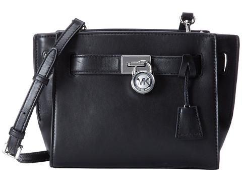 MICHAEL Michael Kors Hamilton Traveler Traveler Messenger (Black) Cross Body Handbags