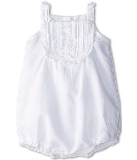 United Colors of Benetton Kids - Dungaree 4BE758QEE (Infant) (White) Girl's Jumpsuit & Rompers One Piece
