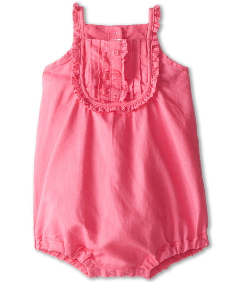 United Colors of Benetton Kids - Dungaree 4BE758QEE (Infant) (Bright Pink) Girl's Jumpsuit & Rompers One Piece