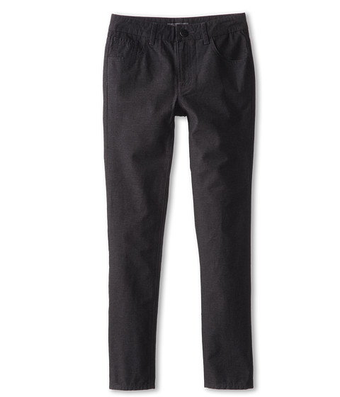 Vince Kids - 5-Pocket Brushed Heather Pant (Big Kids) (Charcoal Heather) Boy