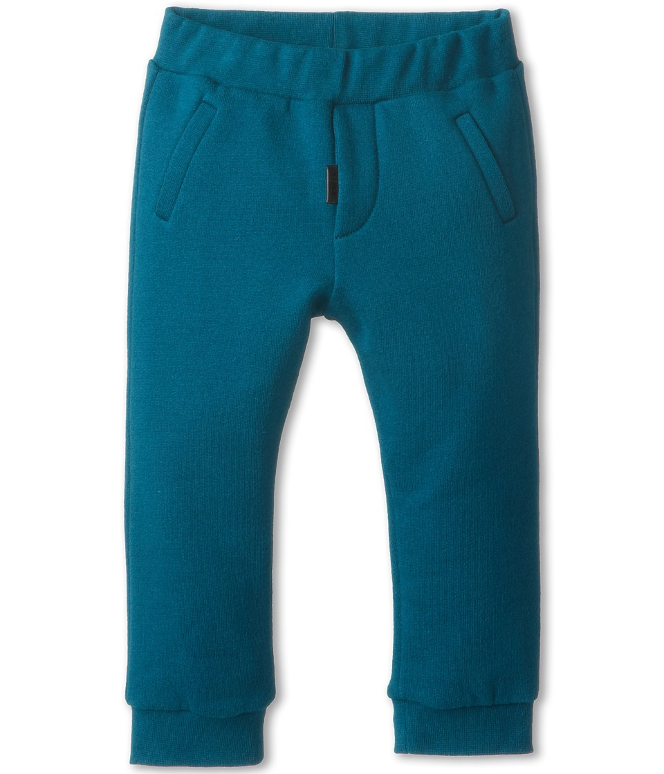 Fendi Kids - Turq Fleece Jogging Pant (Infant/Toddler) (Teal) Boy's Casual Pants