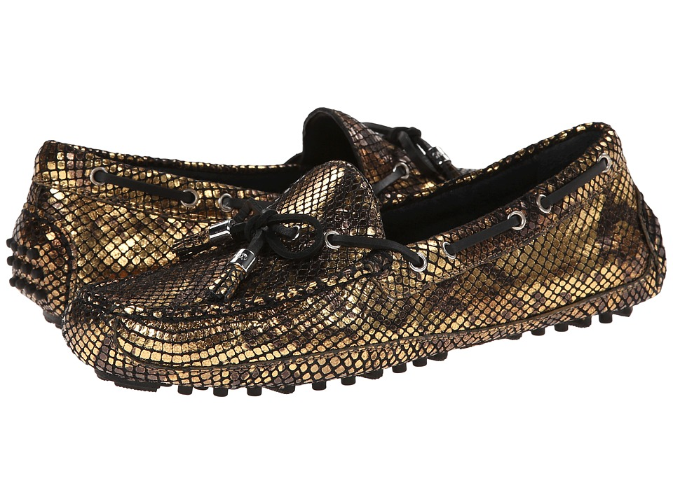 Cole Haan - Grant (Chesnut Gold Snake Print) Women's Slip on Shoes