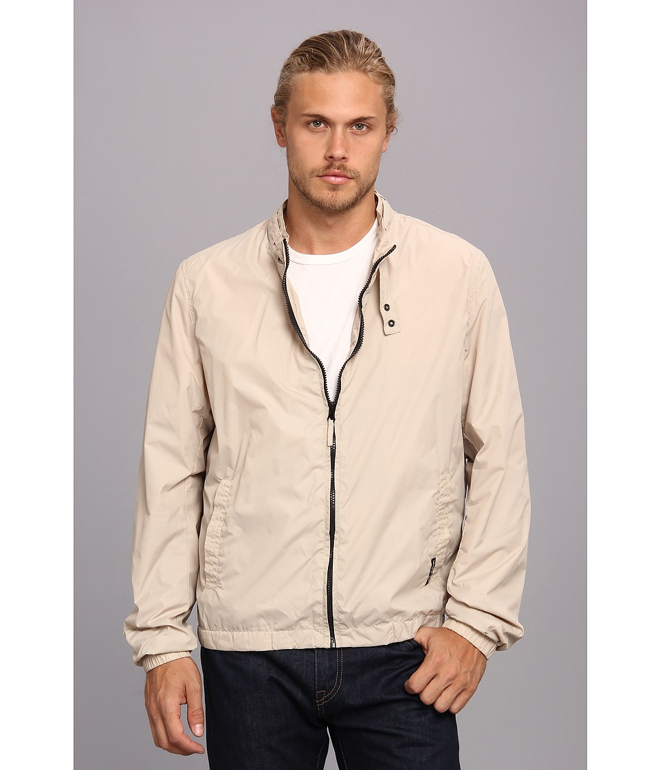 Members Only - Nylon Packable Jacket (Light Khaki) Men's Coat