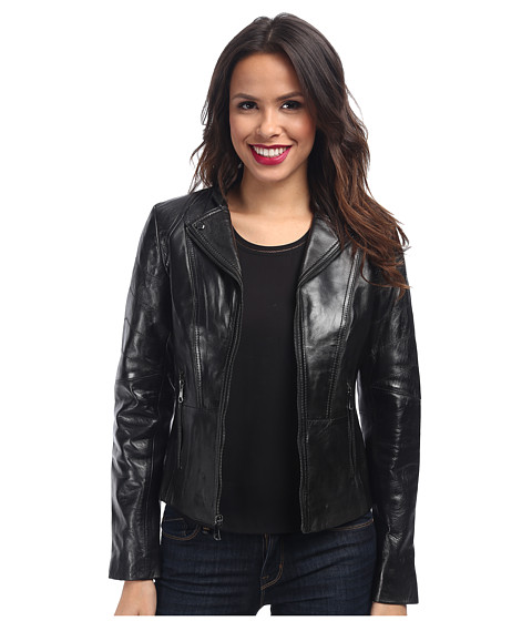 Marc New York by Andrew Marc - Molly - Center Zip (Black) Women