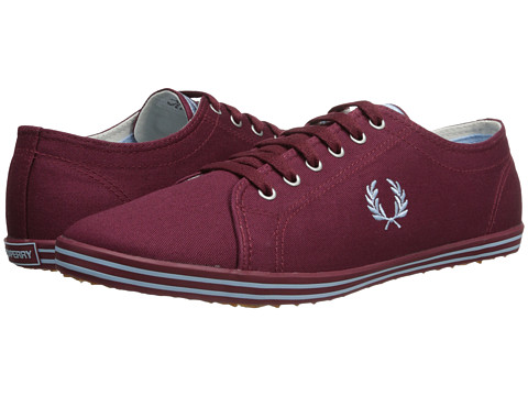 Fred Perry - Kingston Twill (Maroon/Glacier) Men