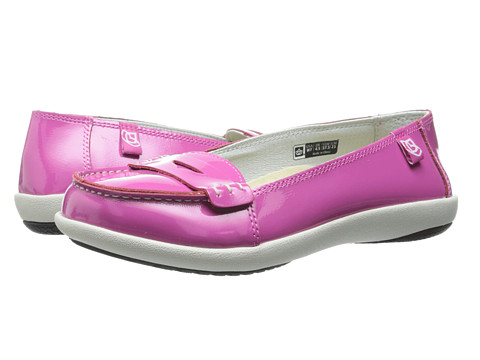 Spenco - Siesta Penny (Berry Patent) Women's Slip on Shoes
