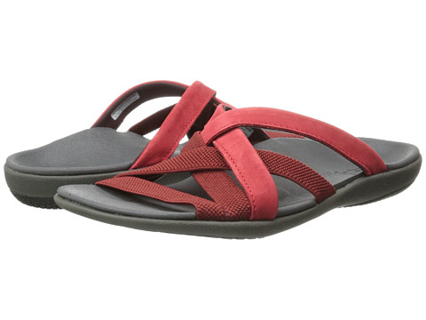 Spenco - Jari Sandal (Dark Red) Women