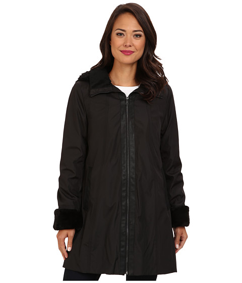 Marc New York by Andrew Marc - Louisa - City Luxe A Line (Black) Women's Coat