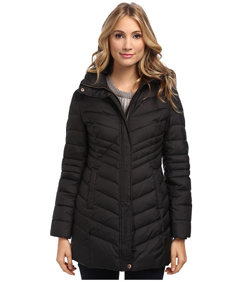 Marc New York by Andrew Marc - Karen - Down w/ Faux Fur (Black) Women