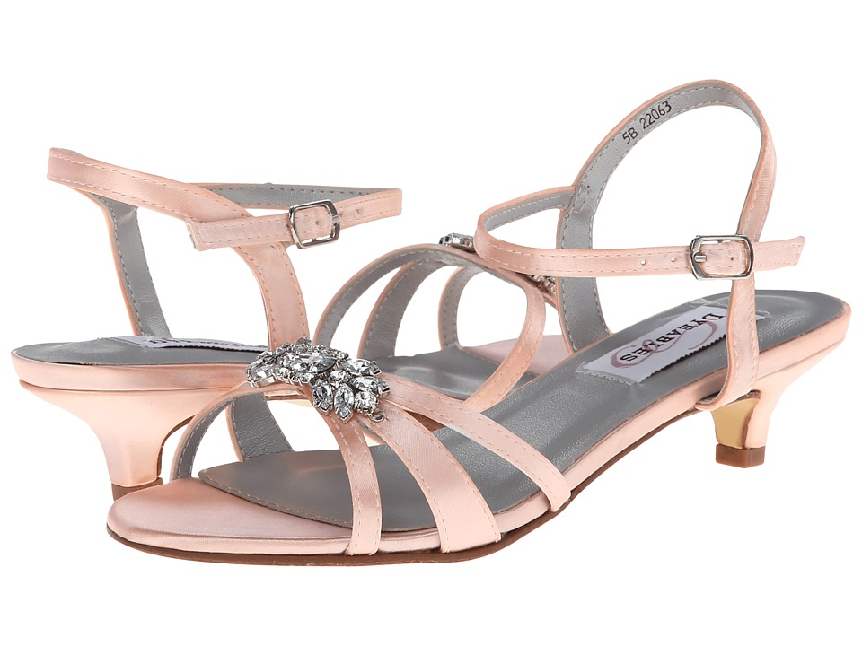 Touch Ups - Penelope (Peach Satin) High Heels