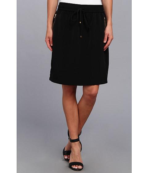 Calvin Klein - Drawstring Skirt (Black) Women