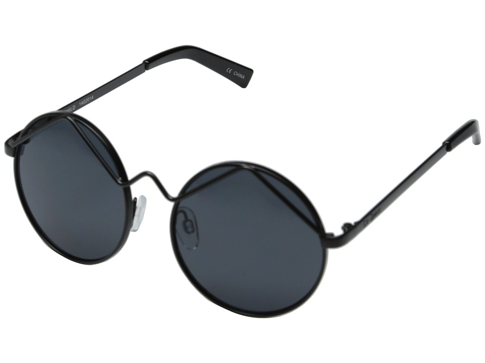 Le Specs - Wild Child (Black/Smoke Mono) Fashion Sunglasses