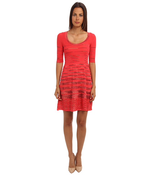 M Missoni - Dress (Coral) Women