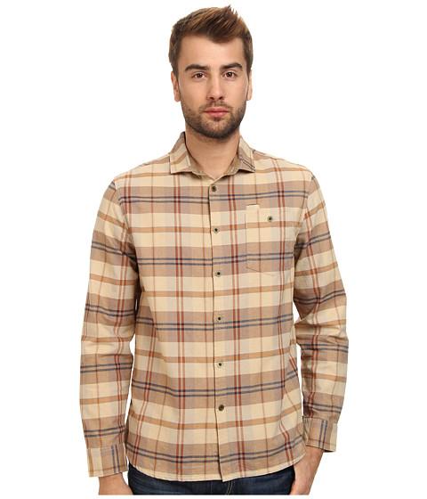 KR3W - Easy Rider L/S Woven Shirt (Dark Khaki) Men's Long Sleeve Button Up