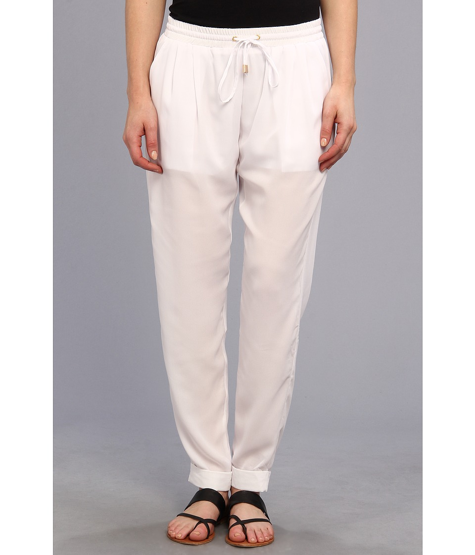 Christin Michaels - Merina Jogger Pant (Off White) Women's Casual Pants