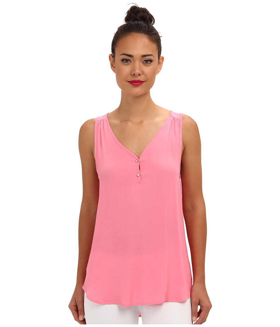 Brigitte Bailey - Playing Time Tank (Neon Pink) Women's Sleeveless