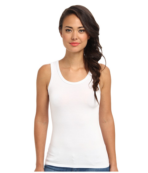 Gabriella Rocha - Round Neck Tank (White) Women's Sleeveless