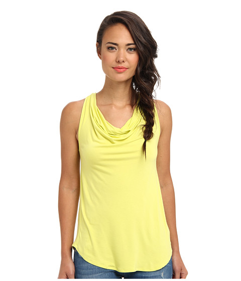 Gabriella Rocha - Cowl Neck Tank (Citron) Women's Sleeveless