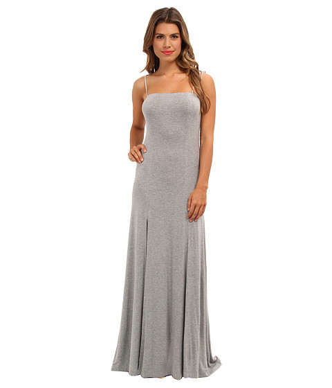 BCBGeneration - Sleeveless Square Neck Casual Dress (Heather Grey) Women's Dress