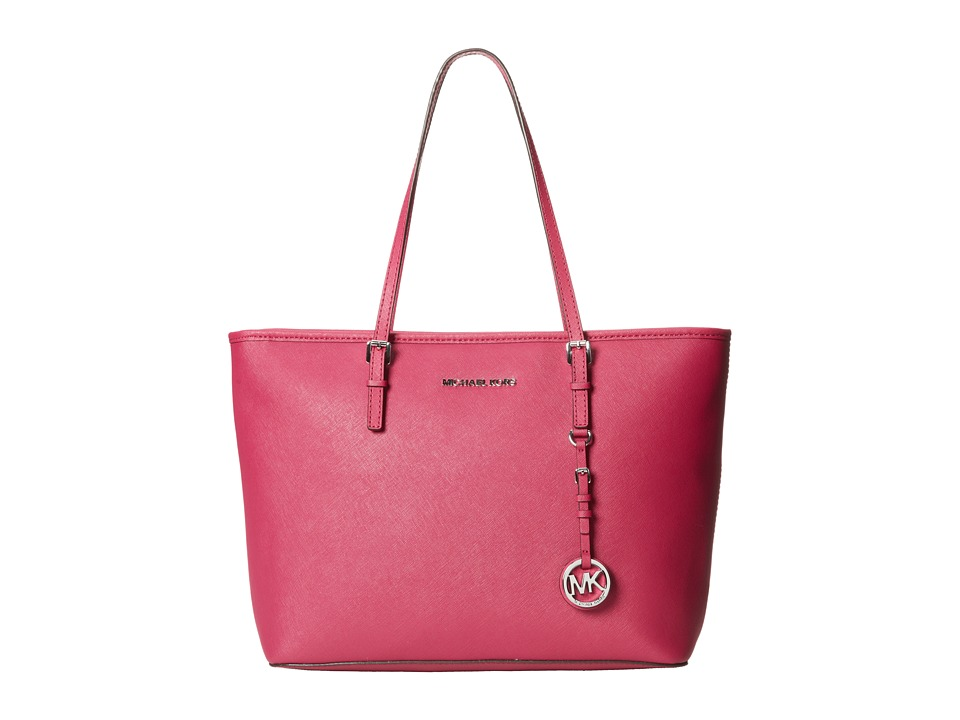 MICHAEL Michael Kors - Jet Set Travel TZ Tote (Deep Pink) Tote Handbags