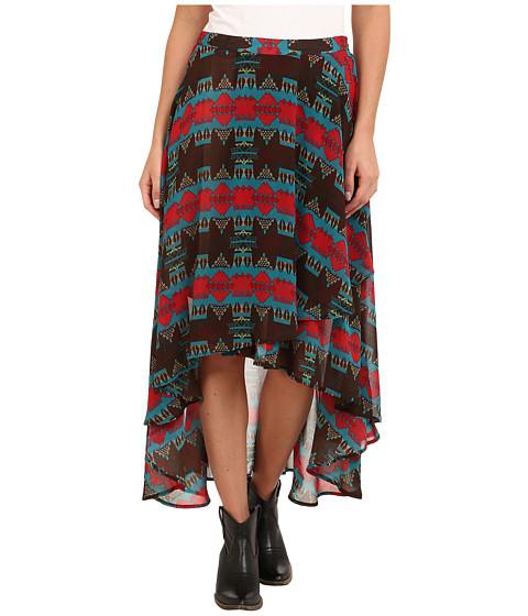 Tasha Polizzi - Jennifer Skirt (Brown) Women's Skirt