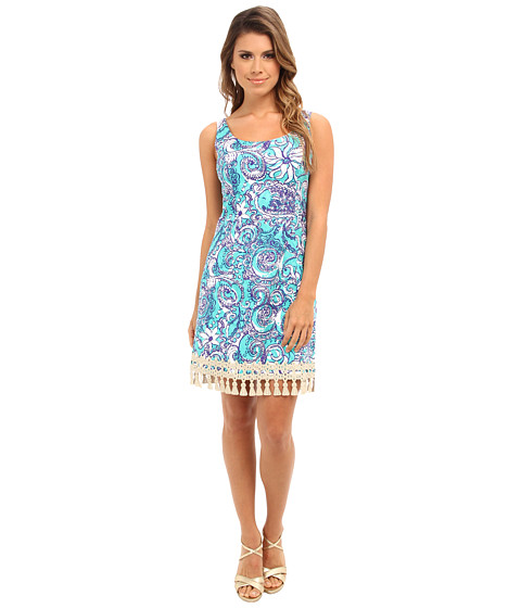 Lilly Pulitzer - Eaton Shift (Seafoam Green Montauk) Women's Dress