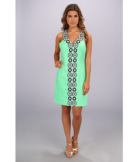 Lilly Pulitzer - Trudy Shift (Go Go Green) Women's Dress
