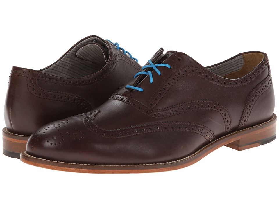 J. Shoes - Charlie (Dark Brown 1) Men's Shoes