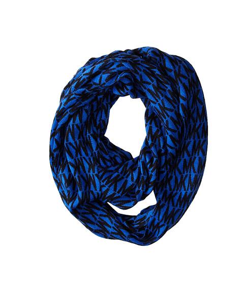 MICHAEL Michael Kors - MK Logo Infinity (Blue) Scarves