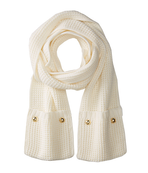 MICHAEL Michael Kors - Pocket Scarf (Cream) Scarves