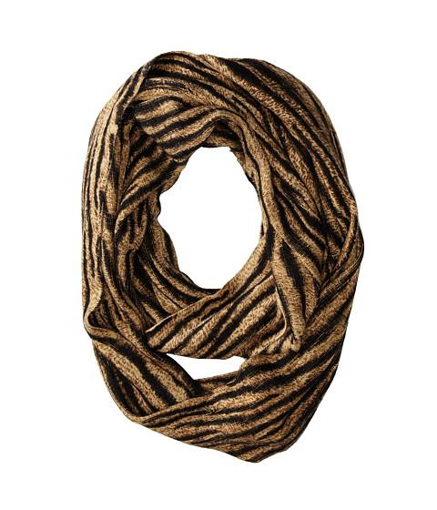 MICHAEL Michael Kors - Baobab Tiger Print Large Infinity (Caramel) Scarves