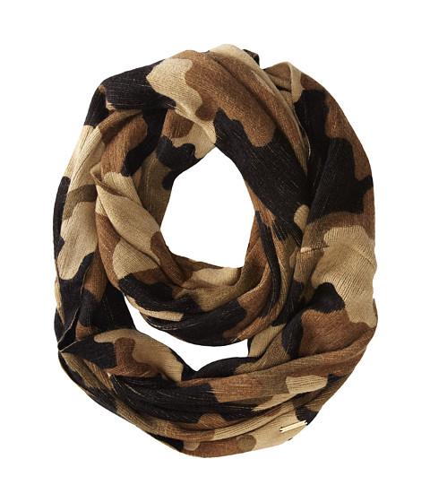 MICHAEL Michael Kors - Kala Camouflage Print Infinity (Duffle Combo) Scarves