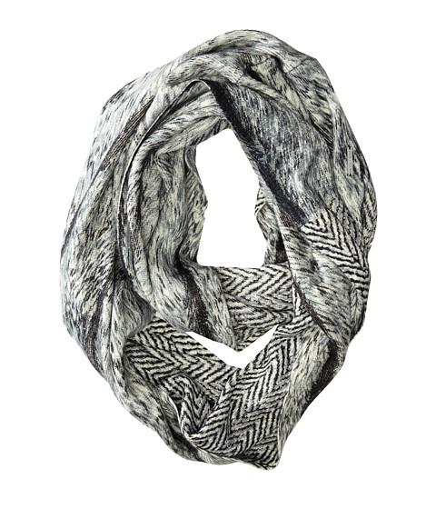 MICHAEL Michael Kors - Belice Border/Lombardia Print Infinity (Lombardia/Black) Scarves