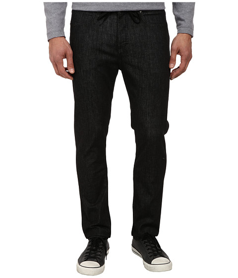 KR3W - K Standard Denim in Black Rinse (Black Rinse) Men