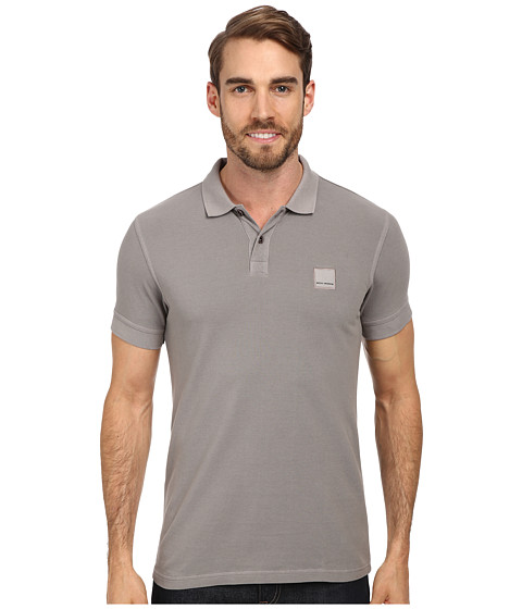 BOSS Orange - Pascha 10122648 01 (Medium Grey) Men's Short Sleeve Pullover