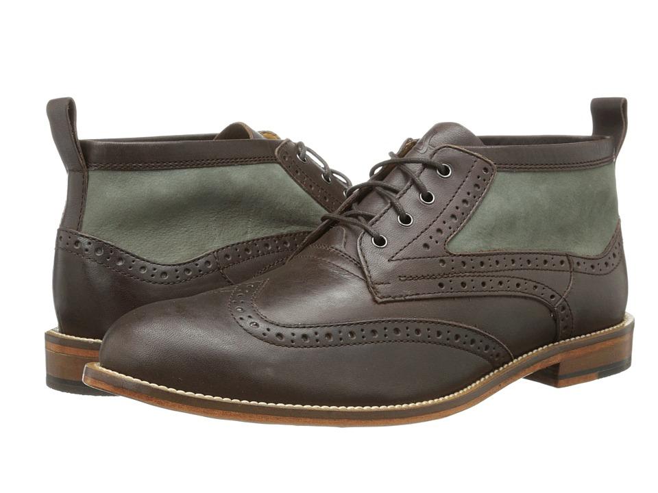 J. Shoes - Hyde (Dark Brown/Charcoal Grey) Men