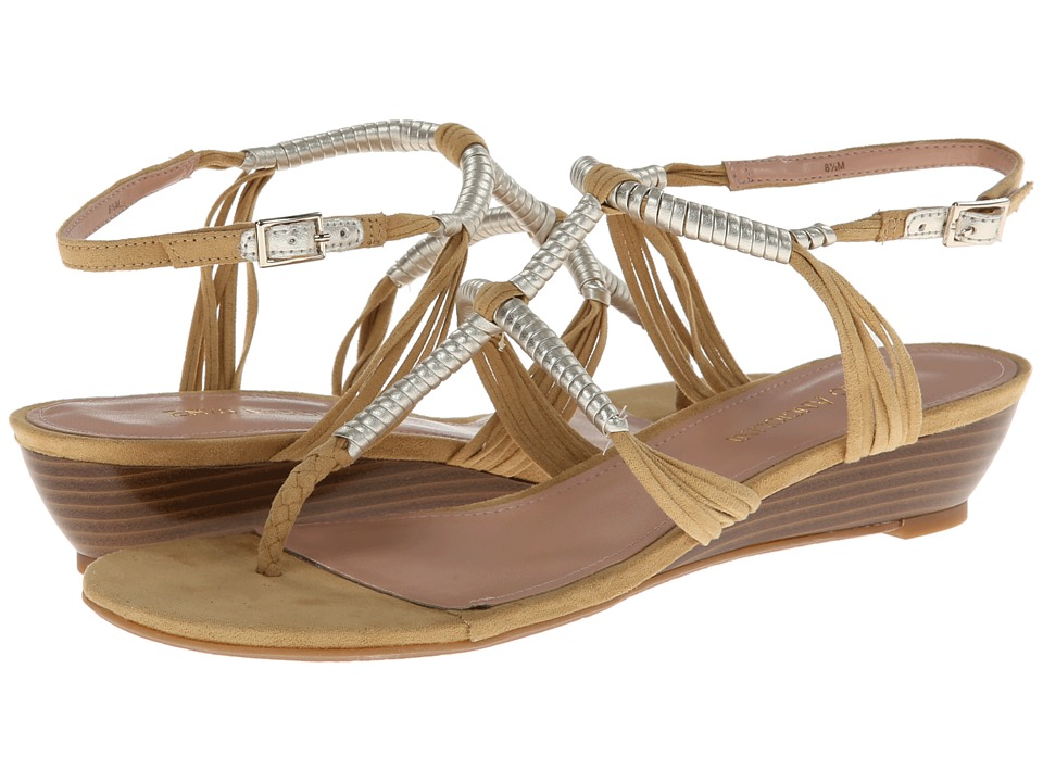 Enzo Angiolini - Khanna (Light Natural/Light Gold) Women's Sandals