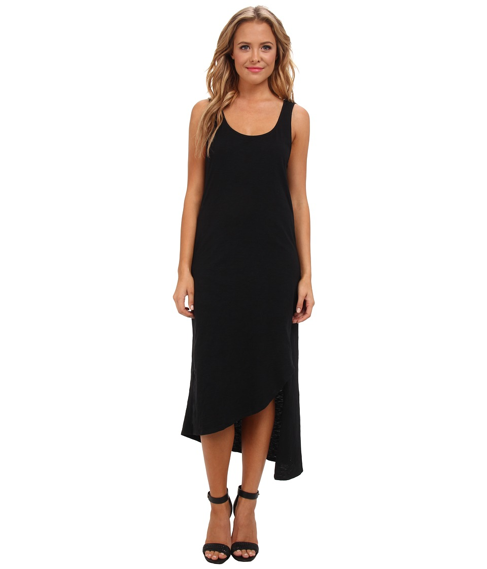 Aryn K - Asymmetrical Tank Racerback Dress (Black) Women's Dress