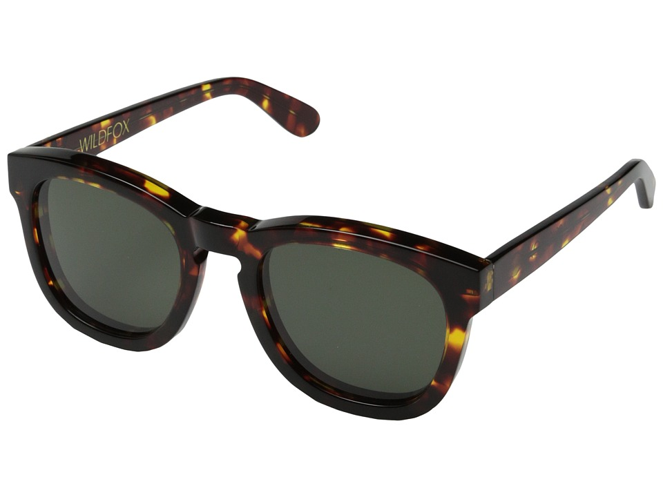 Wildfox - Classic Fox (Toyko Tortoise) Plastic Frame Fashion Sunglasses