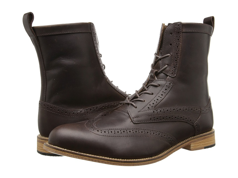 J. Shoes - Andrew 2 (Dark Brown) Men