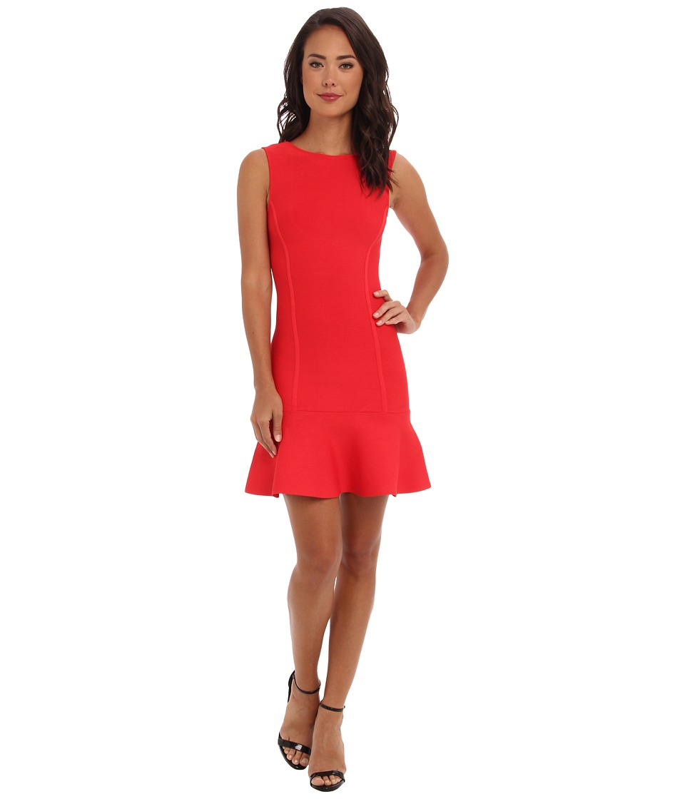BCBGMAXAZRIA - Padma Dress (Red Berry) Women's Dress