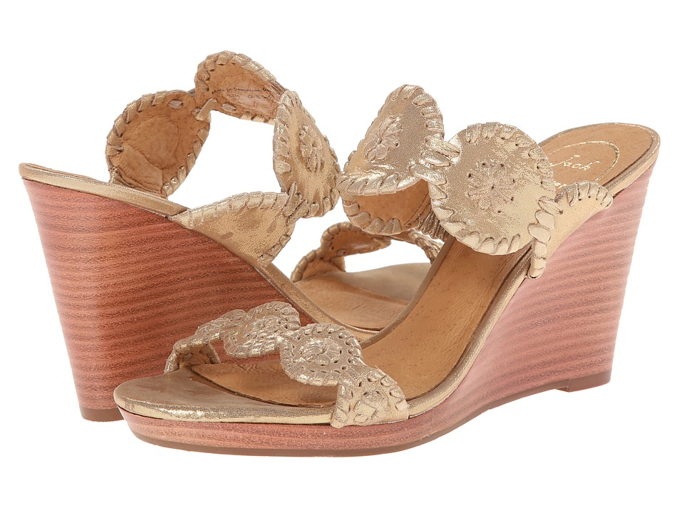Jack Rogers - Luccia Stardust (Gold) Women