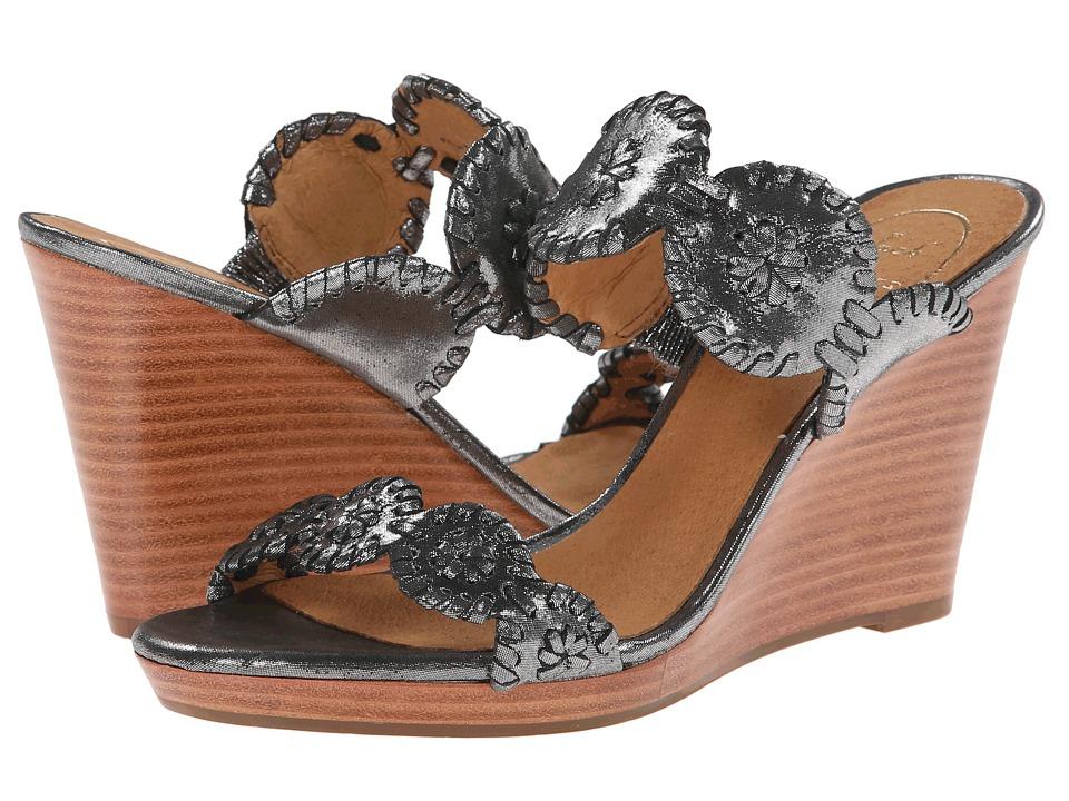 Jack Rogers - Luccia Stardust (Black) Women's Shoes